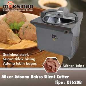 Mixer Adonan Bakso Silent Cutter QS620B